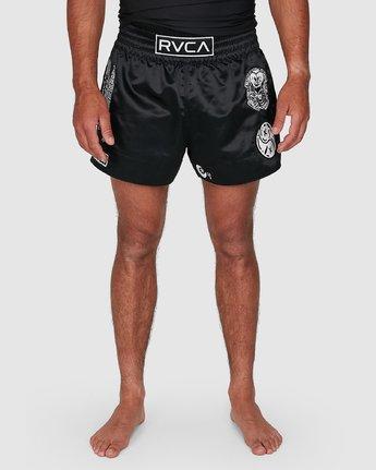 7 Ortiz Muay Thai Shorts Black R308311 RVCA