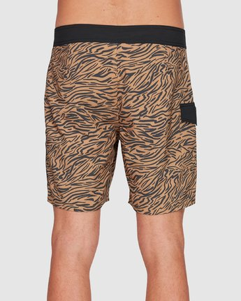 3 Restless Boardshorts Yellow R308401 RVCA