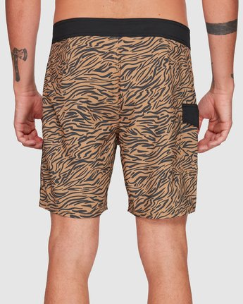 6 Restless Boardshorts Yellow R308401 RVCA