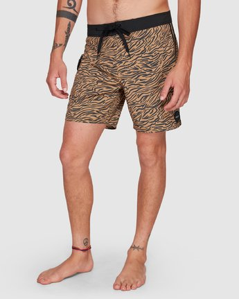 10 Restless Boardshorts Yellow R308401 RVCA