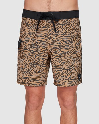 1 Restless Boardshorts Yellow R308401 RVCA