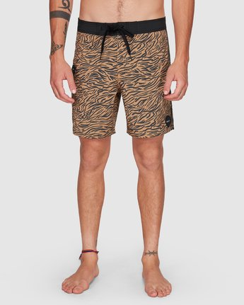 7 Restless Boardshorts Yellow R308401 RVCA