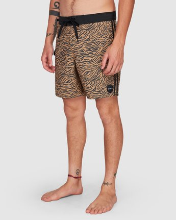 8 Restless Boardshorts Yellow R308401 RVCA