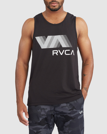 VA RVCA BLUR TANK  R317011