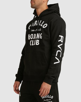 1 PARILLO BOXING CLUB HOODIE Black R317165 RVCA