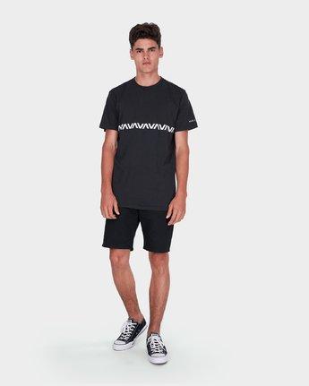 3 Va Stripe T-Shirt  R371009 RVCA