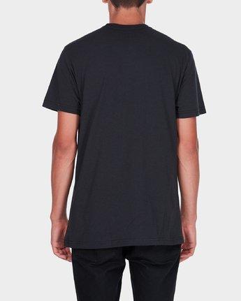 2 Va Stripe T-Shirt  R371009 RVCA