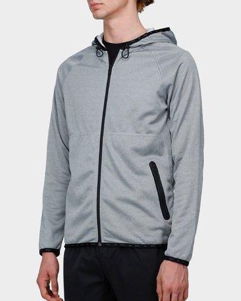 1 Shermin Hood Grey R371153 RVCA