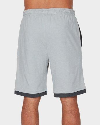 2 VA Sport Shorts II 20 inch Grey R371313 RVCA