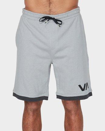 1 VA Sport Shorts II 20 inch Grey R371313 RVCA