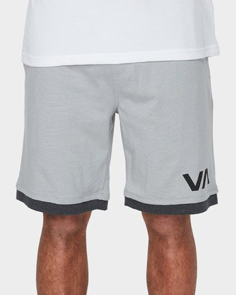 4 VA Sport Shorts II 20 inch Grey R371313 RVCA