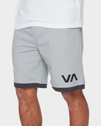3 VA Sport Shorts II 20 inch Grey R371313 RVCA