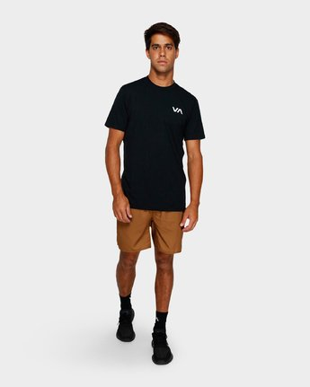 9 Yogger Iii Shorts Orange R371314 RVCA