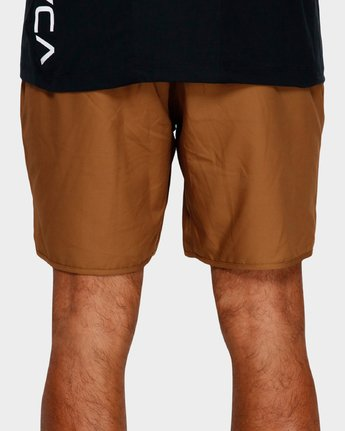 5 Yogger Iii Shorts Orange R371314 RVCA