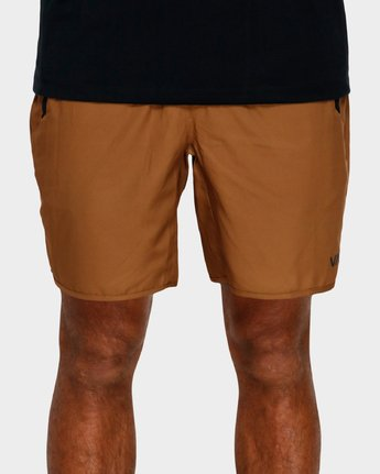 4 Yogger Iii Shorts Orange R371314 RVCA