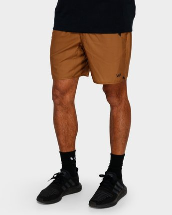 6 Yogger IIl Shorts Orange R371314 RVCA