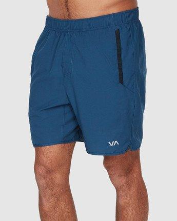 1 Yogger III Shorts Blue R371314 RVCA