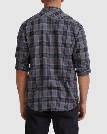 2 Treets Long Sleeve Shirt Grey R372190 RVCA