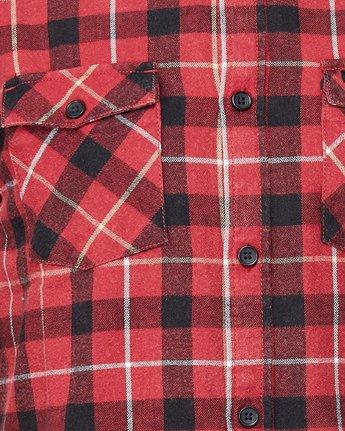 4 Treets Long Sleeve Shirt Brown R372190 RVCA