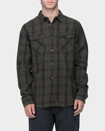 0 Treets Long Sleeve Shirt Camo R372190 RVCA