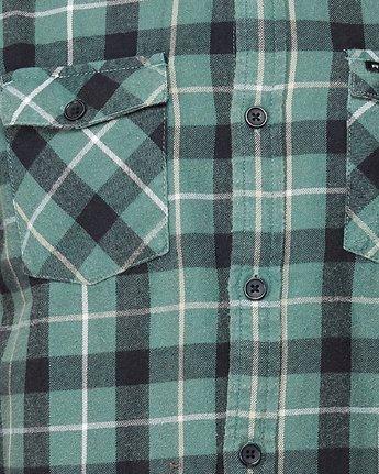 9 Treets Long Sleeve Shirt Green R372190 RVCA