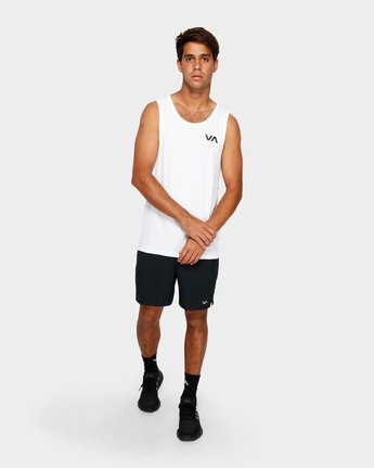4 Va Vent Sleeveleshorts S Sleeve T-Shirt White R381001 RVCA