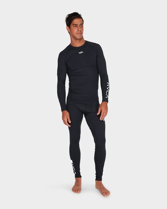 6 Va Compression Pant Black R381271 RVCA