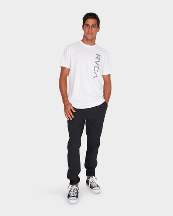 6 VA Tech Pant Black R381275 RVCA