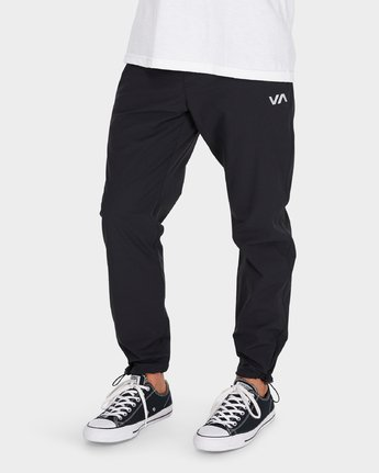 3 VA Tech Pant Black R381275 RVCA