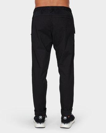 2 Vamok Pants Black R381276 RVCA
