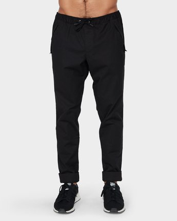 1 Vamok Pants Black R381276 RVCA