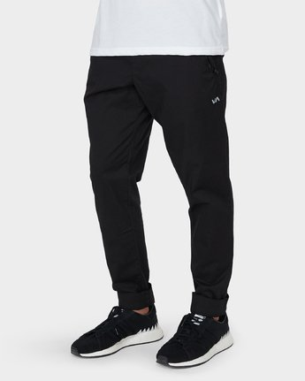 3 Vamok Pants Black R381276 RVCA