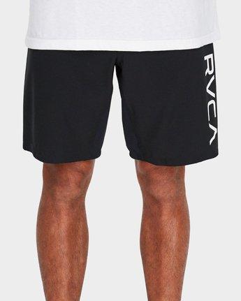 """4 Scrapper 2 19"""" Shorts Black R381318 RVCA"""