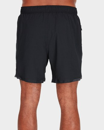 "2 Va Tech Short 16"" Shorts Black R381326 RVCA"