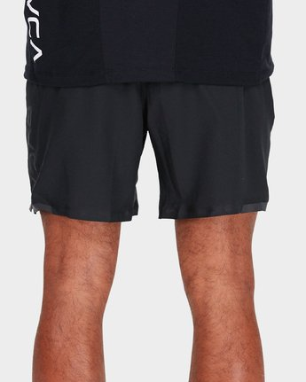 "5 Va Tech Short 16"" Shorts Black R381326 RVCA"