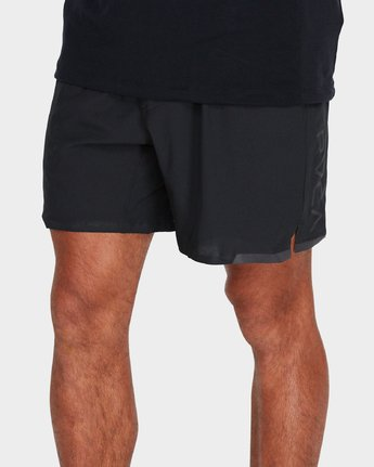 "3 Va Tech Short 16"" Shorts Black R381326 RVCA"