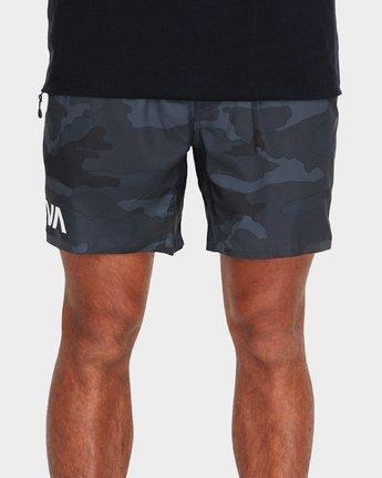 4 VA 16 inch Tech Shorts Camo R381326 RVCA