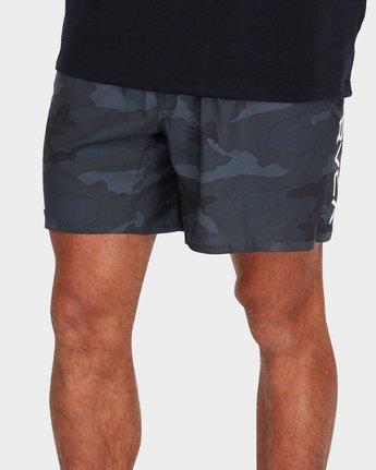 3 VA 16 inch Tech Shorts Camo R381326 RVCA