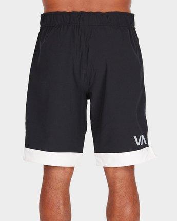 2 Va Challenger Short Black R381329 RVCA