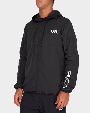 1 Axe Packable Jacket Black R381436 RVCA