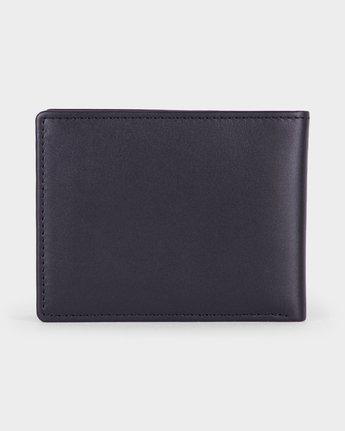 2 Crest Bi-fold Wallet Black R381492 RVCA