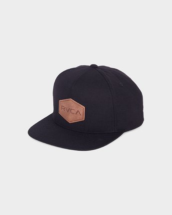 0 COMMONWEALTH DELUXE Black R381562 RVCA