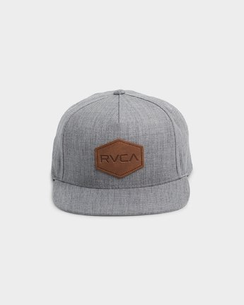 1 Commonwealth Deluxe Cap Grey R381562 RVCA