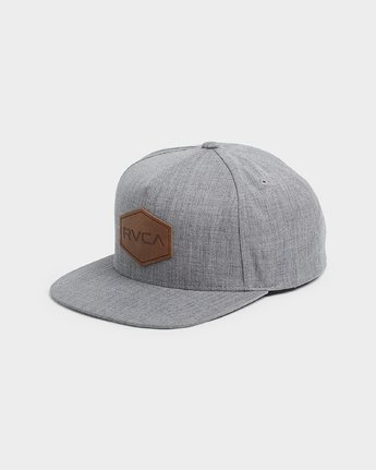 0 Commonwealth Deluxe Cap Grey R381562 RVCA