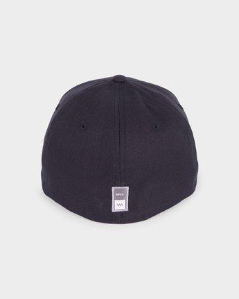 2 RVCA Sport Flexfit Cap Black R381575 RVCA
