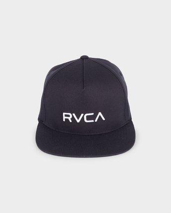 1 RVCA Sport Flexfit Cap Black R381575 RVCA