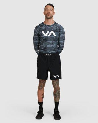 14 Sport Long Sleeve Rashguard Camo R381661 RVCA