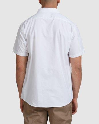 2 Thatll Do Stretch Short Sleeve Shirt White R382185 RVCA