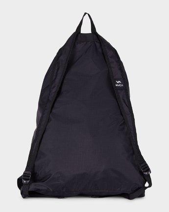 2 Drawcord Backpack Black R382452 RVCA