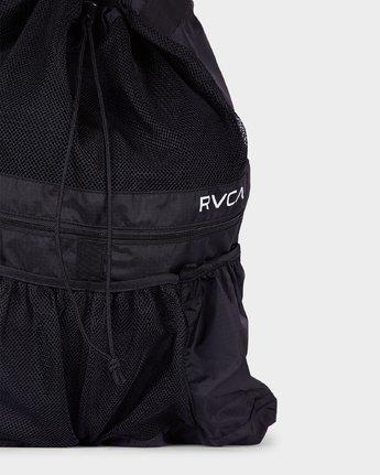 3 Drawcord Backpack Black R382452 RVCA